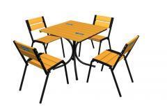 Repair of furniture for bars, restaurants, cafe.