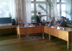 Training of experts of the customer