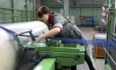 Работы на сновальной и мотальной машинах