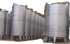 Изготовление и монтаж емкостного оборудования из нержавеющей стали