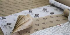 Рулонная печать на бумаге (флексо), ширина 1050 мм