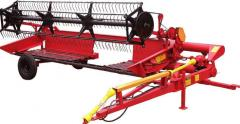 Sale of agricultural machinery: harvesters for