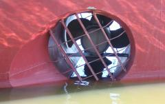 Production, design, installation of bow-thrusters