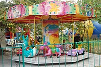 Rent and hire of children's attractions
