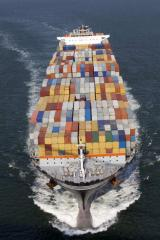 International container transpor