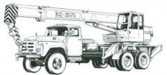 Services of construction equipmen