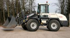 Repair of wheel loaders