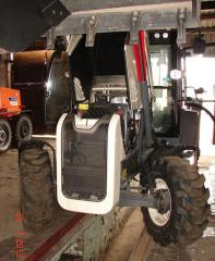 Repair of Terex excavators loaders