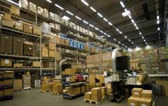 Warehousing of the production equipmen