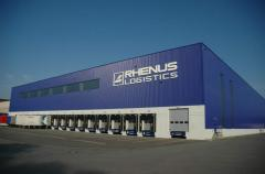 Warehouses with refrigerators