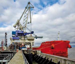 Logistics of sea transpor
