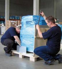 Услуги, связанные с предъявлением грузов к