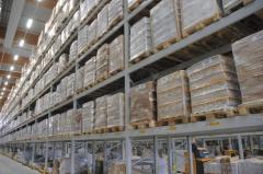 Перевозки строительных материалов на паллетах