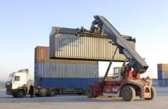 Transportation of goods by standard containers