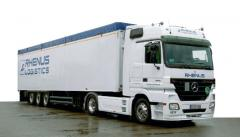 Transportation of agricultural products. Full