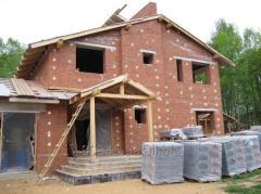 Утепление Пеноизолом  уже построенных домов