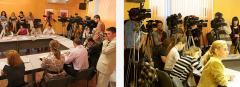 Организация пресс конференций, круглых столов,