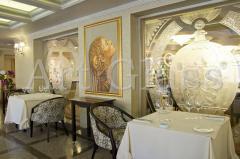 Interior design of restaurants - development and