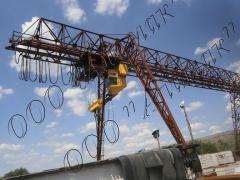 Антикоррозийная защита металлоконструкций грузоподъемных кранов