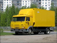 Service of the KAMAZ cars 4308