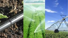 Equipment for drop watering and microirrigation