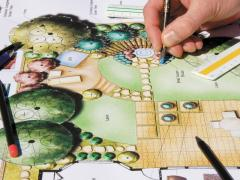 Consultation on landscape design, design and