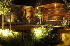 Design of landscape lighting