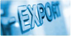 Export, zatamozhka with - x production