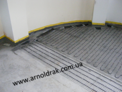 Mounting and installation of heating of floors