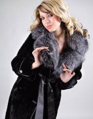 Перекроить воротник в шубе, пальто, кожаной куртке