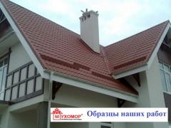 Calculation of need for roofing materials. Design