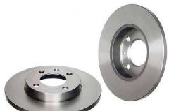 Groove of brake disks