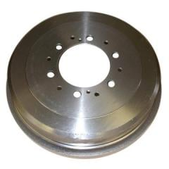 Groove of brake drums