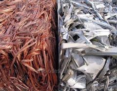 Processing of non-ferrous scrap