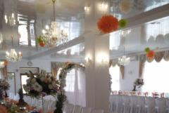 Organization and holding weddings and anniversary