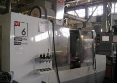 Turning and milling processing of metals