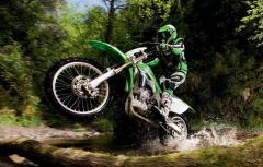 Hire of the motorcycle enduro.