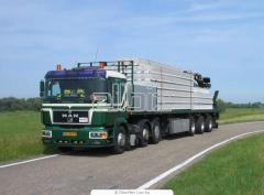 Услуги по перевозке грузов, Перевозка грузов