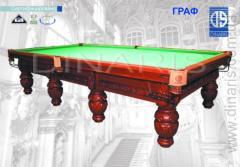Services in the billiard equipment (tables)