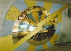 Зеркала , имеющие фигурно-обработанную алмазную