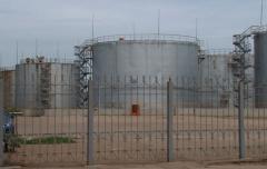Монтаж резервуаров для хранения нефтепродуктов,