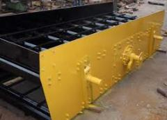 Capital repairs of the crushing equipmen