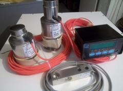 Delivery of strain gages of import production