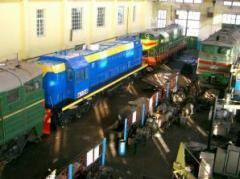 Repair of locomotives