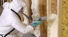 Loggia thermal insulation polyurethane foam