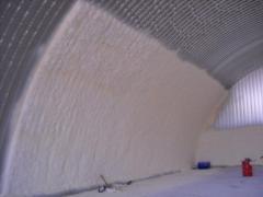 Ceiling thermal insulation polyurethane foam