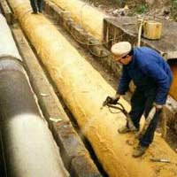 Thermal insulation of pipelines, capacities,