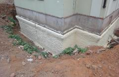 Thermal insulation of the bases polyurethane foam