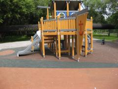 Rubber coverings for nurseries and sports grounds