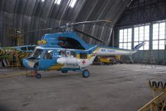 Repair of components of airplanes, helicopters,